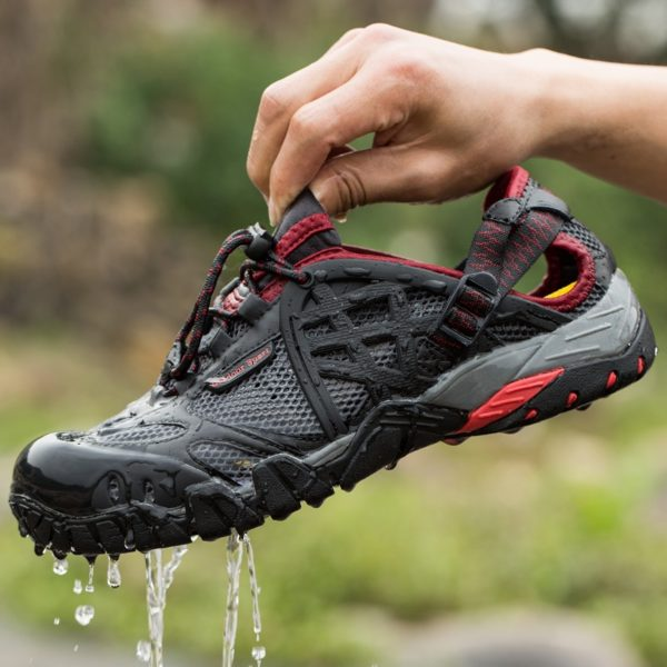 Men Outdoor Sneakers Breathable Hiking Shoes Big Size Men Women Outdoor Hiking Sandals