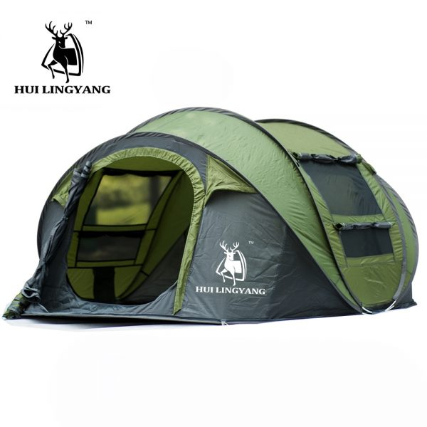 Large throw tent outdoor 3-4persons