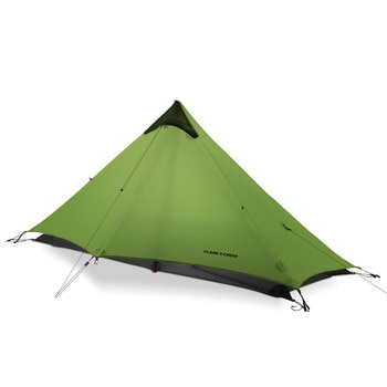2018 LanShan 1 FLAME'S CREED 1 Person Outdoor Ultralight Camping Tent 3 Season Professional 15D Silnylon Rodless Tent