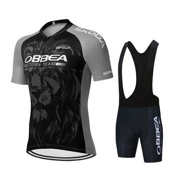 2021 Team Cycling Clothing Ropa Ciclismo Hombre Summer Short Sleeve Cycle Clothes Mtb Bike Uniforme Maillot Ciclismo Triathlon