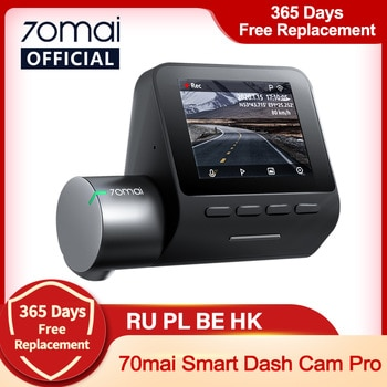 70mai Smart Dash Cam Pro 1944P Voice Control Speed Coordinates GPS ADAS 70mai Pro Car Dash Camera 70mai Plus Car DVR 24H Parking