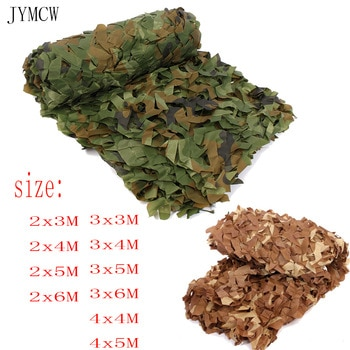 Camouflage Nets Military Army Training Tent Shade Outdoor Camping Hunting Shelter Hide Netting Car Covers Garden Bar Decoration
