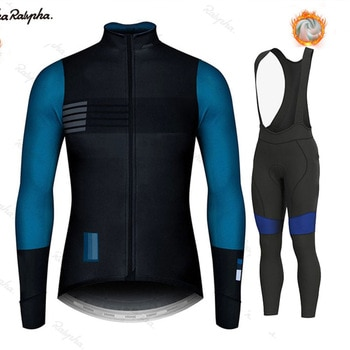 Gobikeful 2021 New Winter Thermal Cycling Clothes Men Northwaveful Jersey Suit Outdoor Riding Bike Clothing Bib Pants Set