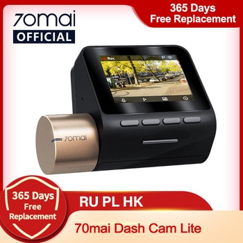 New 70mai Dash Cam Lite 1080P Speed Coordinates GPS Modules 70mai Lite Car Cam Recorder 24H Parking Monitor 70mai Lite Car DVR