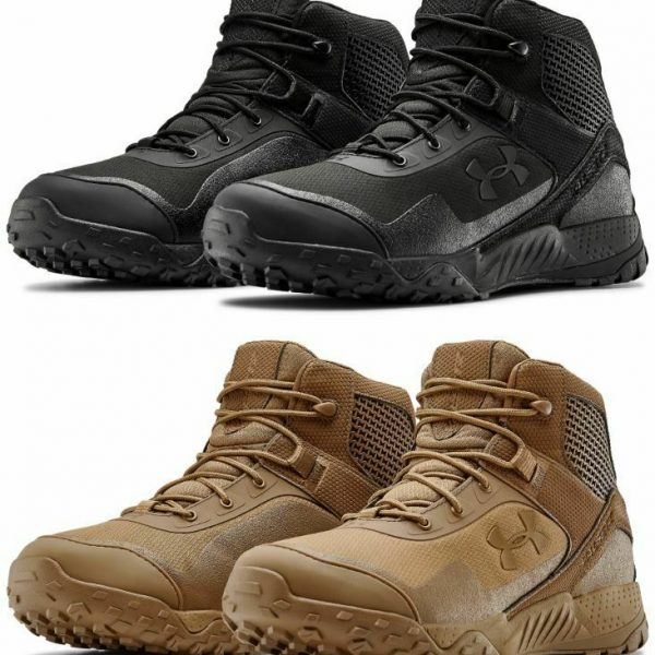 Under Armour 3022853 Men's UA 5″ Valsetz RTS 1.5 Tactical Duty Boots Hiking Boot