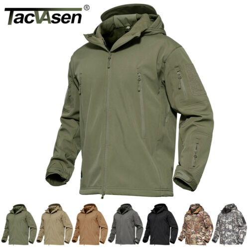 Waterproof Tactical Soft Shell Mens Jacket