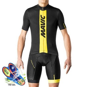 Cycling Jersey 2020 Pro Team Mavic Ropa Ciclismo Hombre Summer Short Sleeve Jerseys Cycling Clothing Triathlon Bib Shorts Suit